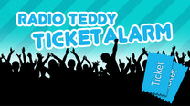 Radio TEDDY-Ticketalarm